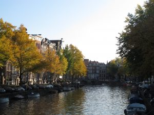The canals of Amsterdam were used as a sewer system in the past