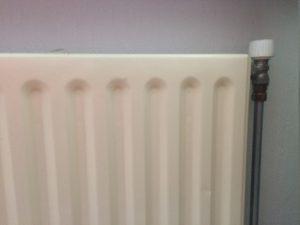 Repairing a radiator in Leiden