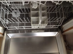 fixing a clogged dishwasher in Utrecht