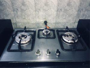 gas plate installation