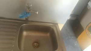 replace an old kitchen sink