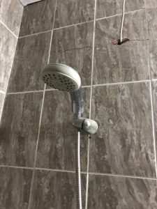 shower installation