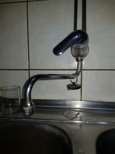 a leaking faucet in veenendaal