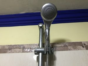an old shower head
