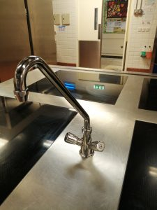 kitchen faucet installation in halfweg