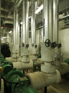professional heating and plumbing installation