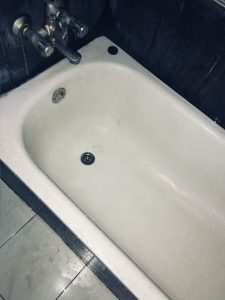 replacing an old bathtub