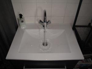 washin basin installation in zandvoort