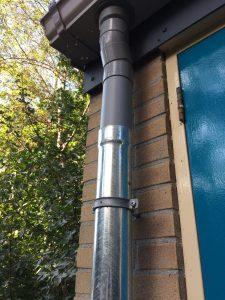 rain gutter repair